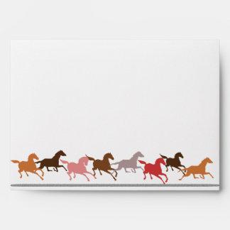 Funcionamiento de los caballos salvajes sobres