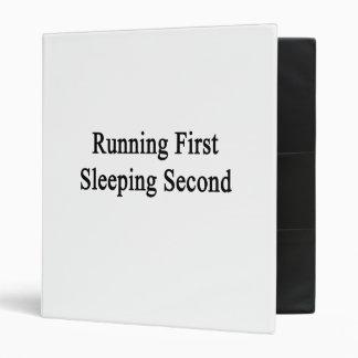 Funcionamiento de segundo primero el dormir