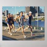Funcionamiento de Triathloners Póster