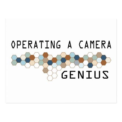 Funcionamiento de un genio de la cámara postales