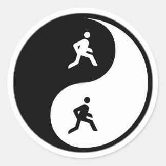 Funcionamiento de Yin Yang Pegatinas