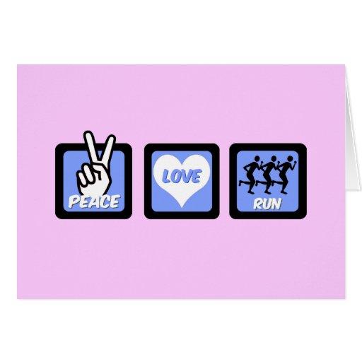 Funcionamiento del amor de la paz felicitaciones
