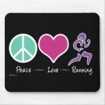 Funcionamiento del amor de la paz tapetes de raton