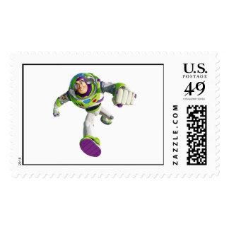 Funcionamiento del año ligero del zumbido sellos postales