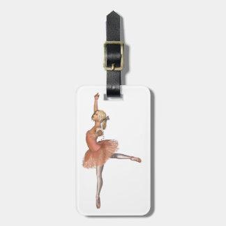 Funcionamiento del ballet - actitud de la actitud etiquetas maleta
