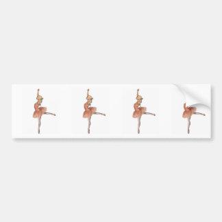 Funcionamiento del ballet - actitud de la actitud pegatina para auto
