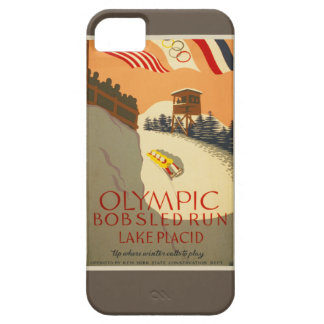 Funcionamiento del Bobsled, Lake Placid 1932 iPhone 5 Case-Mate Funda