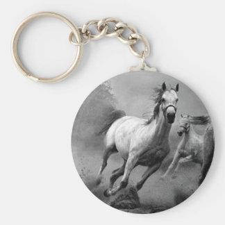 Funcionamiento del caballo llavero redondo tipo pin