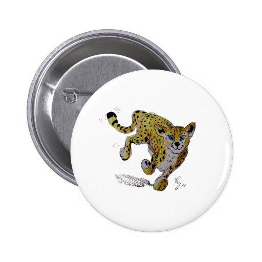 Funcionamiento del cachorro del guepardo de Speeds Pin