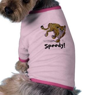Funcionamiento del cachorro del guepardo de Speeds Camisetas Mascota