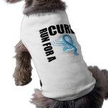 Funcionamiento del cáncer de próstata para una cur camiseta de perro