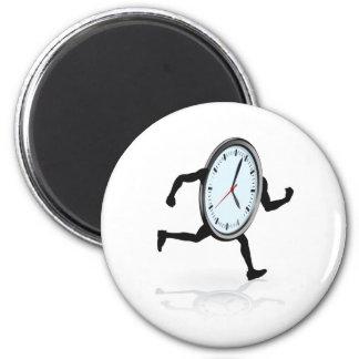 Funcionamiento del carácter del reloj iman de frigorífico