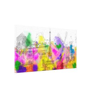 Funcionamiento del color de PixDezines París, Impresión En Lona