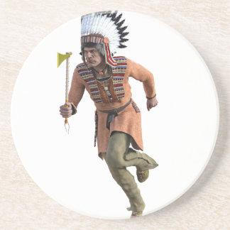 Funcionamiento del guerrero de Cheyenne principal Posavasos Para Bebidas