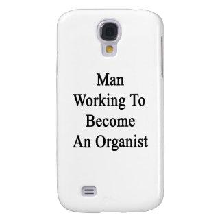 Funcionamiento del hombre a hacer un organista