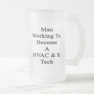 Funcionamiento del hombre a hacer una tecnología taza cristal mate