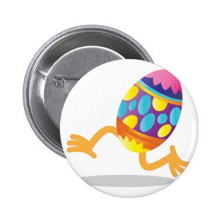 funcionamiento del huevo de Pascua Pin Redondo De 2 Pulgadas