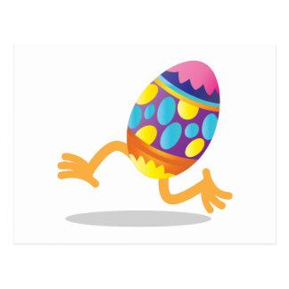 funcionamiento del huevo de Pascua Tarjeta Postal