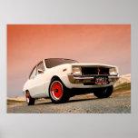 Funcionamiento del japonés del vintage de Mazda R1 Posters