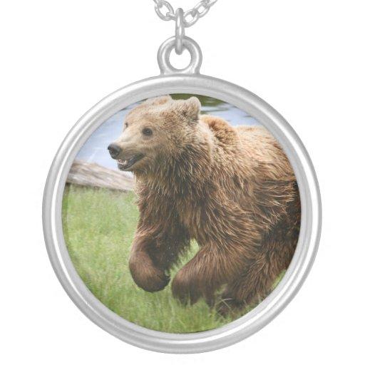 Funcionamiento del oso de Brown Colgante Redondo