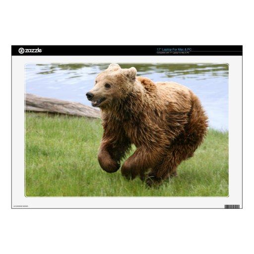 Funcionamiento del oso de Brown Portátil 43,2cm Skins
