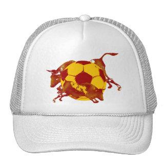 Funcionamiento español caliente de Ulta del fútbol Gorros