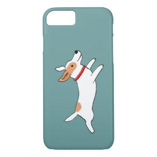 Funcionamiento feliz Jack Russell Terrier - perro Funda iPhone 7