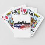 Funcionamiento fuerte de Boston Baraja Cartas De Poker
