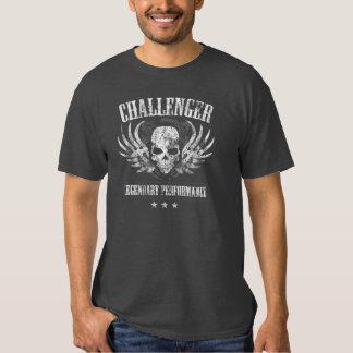 Funcionamiento legendario del desafiador camisas
