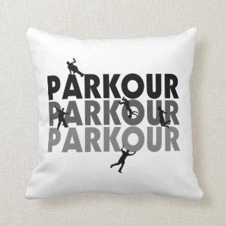 Funcionamiento libre de Parkour Cojines
