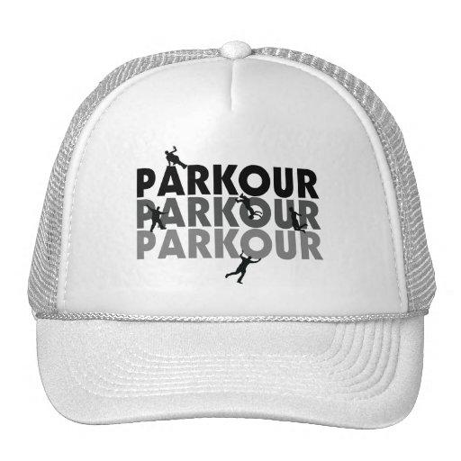 Funcionamiento libre de Parkour Gorro De Camionero