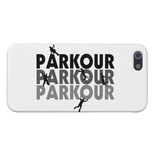 Funcionamiento libre de Parkour iPhone 5 Carcasas