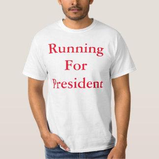 Funcionamiento para el presidente remera