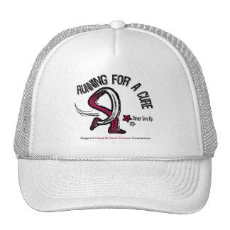 Funcionamiento para un cáncer de cabeza y cuello d gorro de camionero
