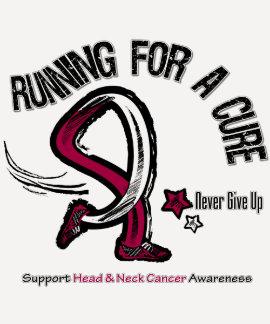 Funcionamiento para un cáncer de cabeza y cuello d camisetas