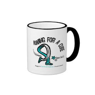 Funcionamiento para un cáncer de cuello del útero  tazas de café