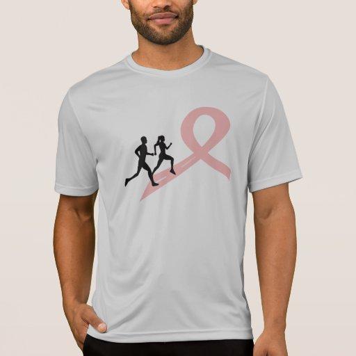 Funcionamiento para una causa - rosa camisetas