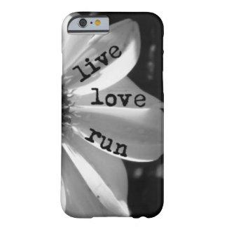 Funcionamiento vivo del amor por los diseños de funda barely there iPhone 6