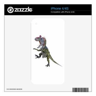Funcionamiento y salto del Cryolophosaurus Skin Para El iPhone 4