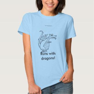 ¡Funcionamientos con los dragones! Poleras