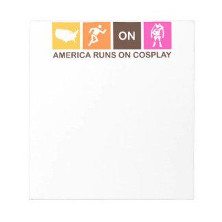 Funcionamientos de América en Cosplay Bloc De Papel