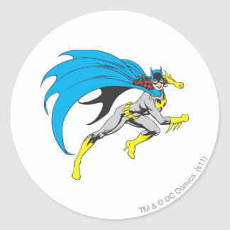 Funcionamientos de Batgirl Etiqueta Redonda