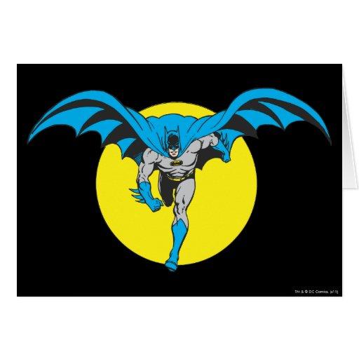 Funcionamientos de Batman adelante Tarjeta De Felicitación