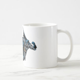 Funcionamientos de Batman con entusiasmo Taza De Café