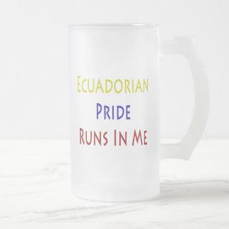 Funcionamientos del orgullo del Ecuadorian en mí Tazas De Café