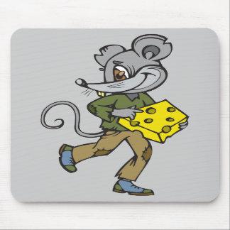 Funcionamientos del ratón con queso tapetes de ratón