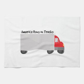 Funcionamientos en los camiones toallas de cocina