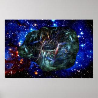 Funcionamientos internos del universo póster