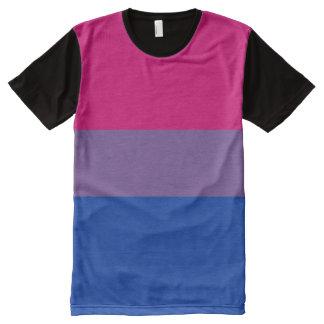 Funcionario bisexual de la bandera del orgullo -