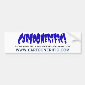 ¡Funcionario CARTOONERIFIC! Pegatina para el Pegatina Para Auto
